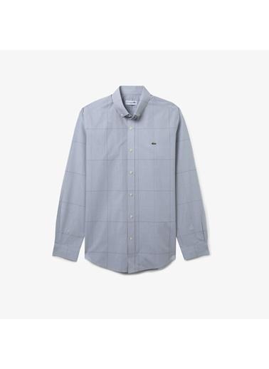 Lacoste Erkek Slim Fit Gömlek CH0174.74S Mavi